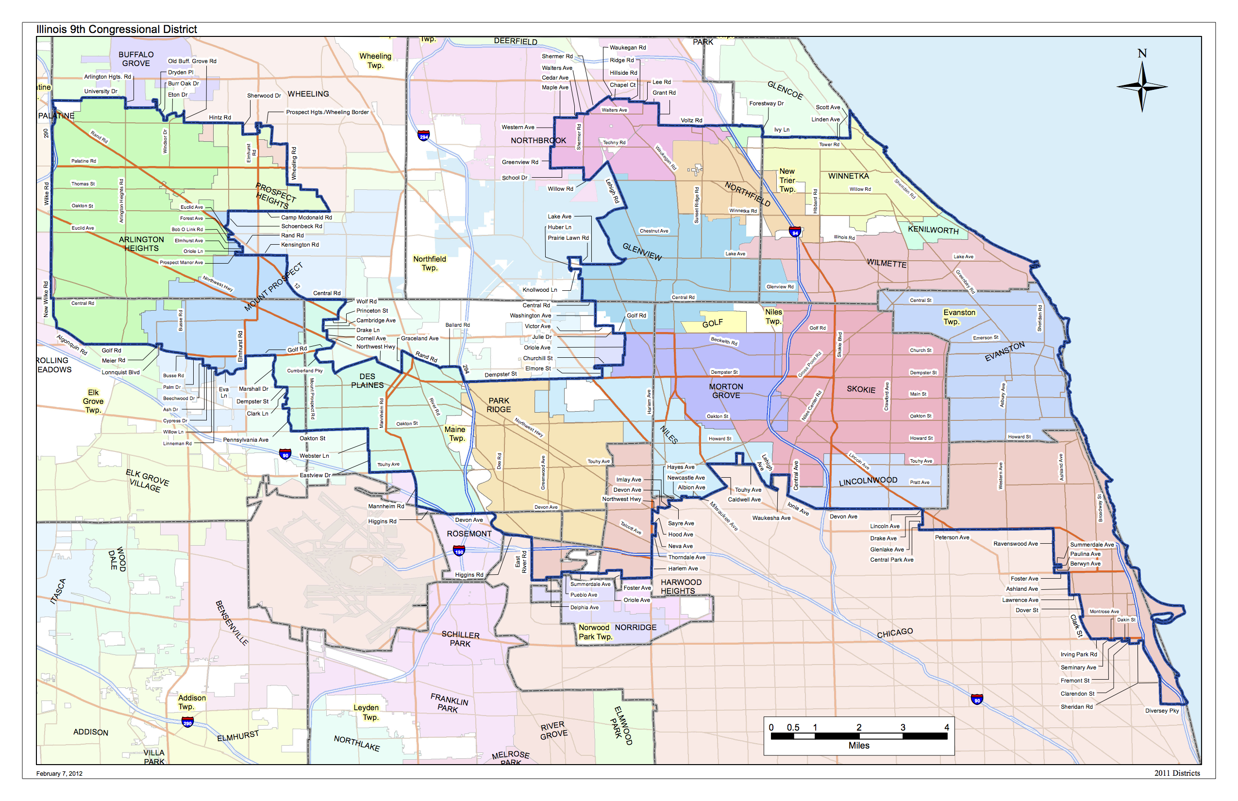 The New 9th Congressional District | Jan Schakowsky   Democrat for