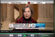 Jan on MSNBC's Andrea Mitchell Reports
